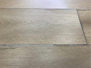 Floor with integrated underlay