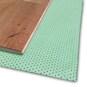 Perforated underlay 1