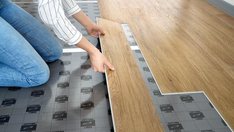 underlay for vinyl flooring