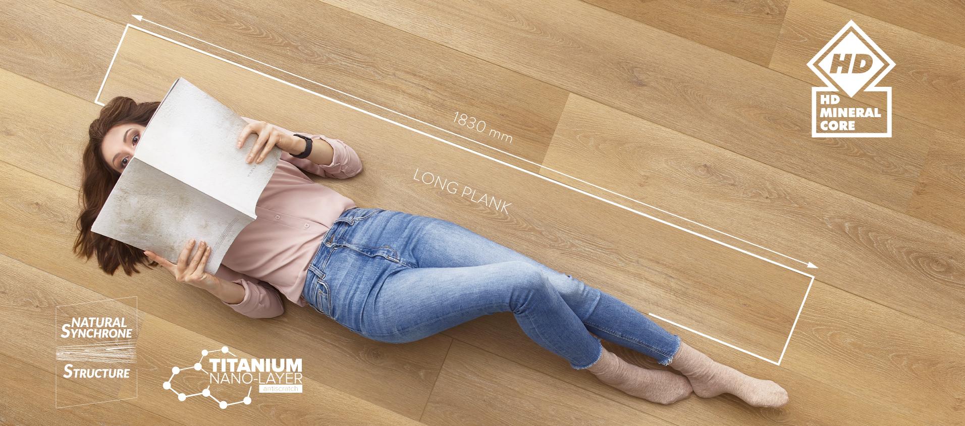 Amaron Superiore long plank
