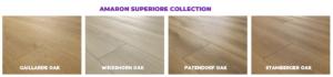Amaron Superiore range of colours